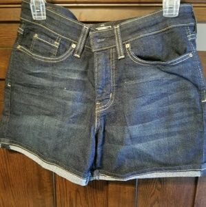 NWOT summer sale dark wash shoets
